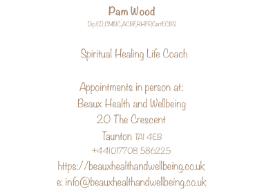 Contact Beaux Health & Wellbeing